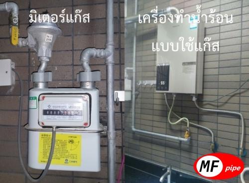 เครื่องทำน้ำร้อน แบบใช้แก๊ส